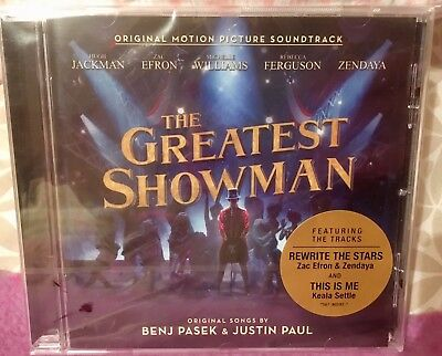 The Greatest Showman (Original Motion Picture Soundtrack) New Sealed