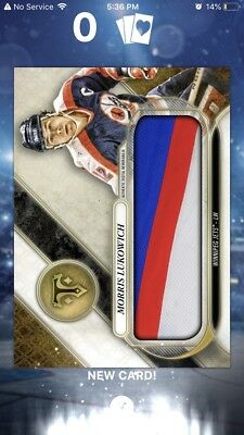 Topps Skate Triple Threads Morris Lukowich Alumni Relic Digital