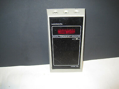 Radio Shack Tandy Micronta Portable Digital Frequency Counter Model 22-351