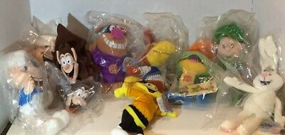 Set Of 10 1997 General Mills Breakfast Beanies Cereal Dolls Nos