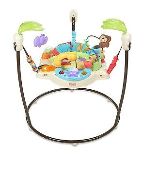 Baby Bouncer Toy Fisher Price Luv U Zoo Jumperoo Toddler Activity Center New New