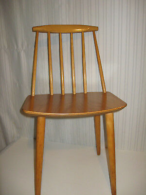 Vintage Danish Mid Century Modern Child's Desk Chair