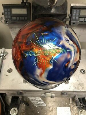 15lb Track Precision Bowling Ball (low Games) - Lots Of Backend