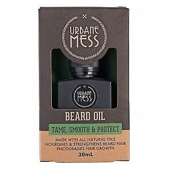 URBANE MESS Beard Oil 30ml, for men: great product!
