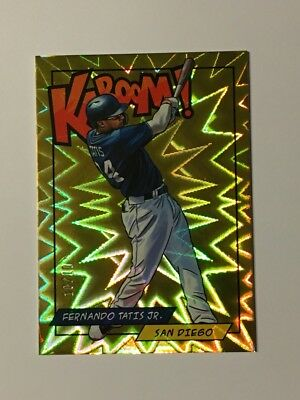 2018 Panini Rewards Fernando Tatis Jr GOLD KABOOM 10/10