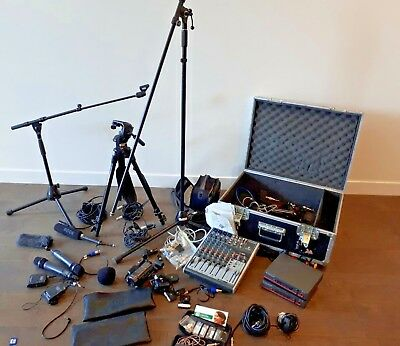Camera Gear  Rhode Sony HD Camera  Stand Mixer Microphone Leads