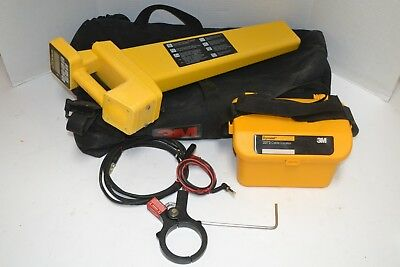 3M DYNATEL 2273 CABLE PIPE FAULT LOCATOR w/ TRANSMITTER & CLAMP CARRYING CASE