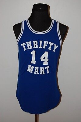 Vintage 70s 80s 90s University NCAA NBA Rawlings Thrifty Mart Basketball Jersey
