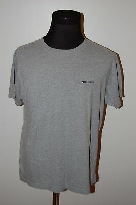 Vintage 90s Tommy Hilfiger Flag Box Logo Spell Out T Shirt X Large