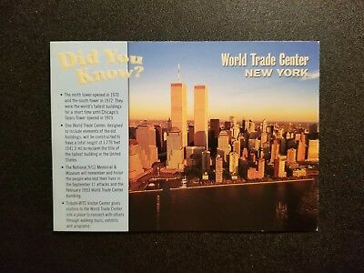 Modern View - Did You Know? Facts on the World Trade Center - New York City, NY