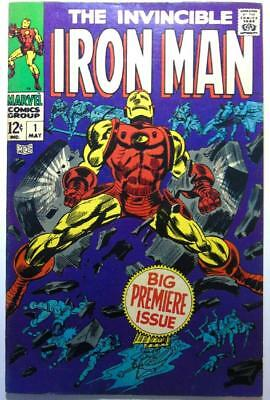 The Invincible Iron Man Marvel Comic Book Vol. 1 May 1968 Big Premiere Issue