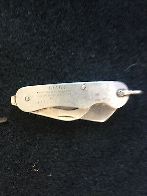 Joseph Rodgers Folding Pocket Knife 4/1970 With Defence Broad Arrow Mark Antique
