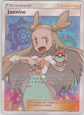 Pokemon TCG SM Team Up 177/181 Jasmine Full Art Rare Card
