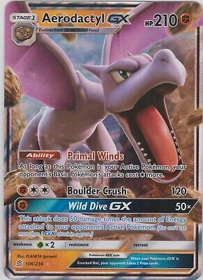 Pokemon TCG SM Team Up 175/181 Evelyn Full Art Rare Card