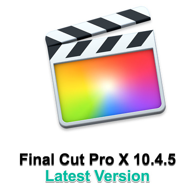 Final Cut Pro X 10.4.5 Latest Version  - Digital Delivery Only