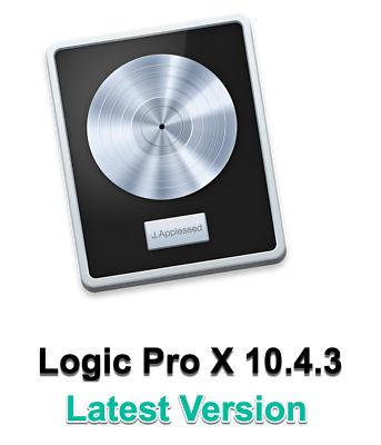 Logic Pro X 10.4.3 Latest Version  - Digital Delivery Only