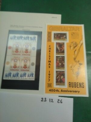 Gibraltar Stamps Mint unmounted