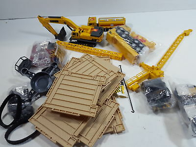iPlay, iLearn Construction Site Vehicles Toy Set, Engineering Tractor Digger