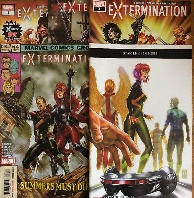 Extermination (Marvel): 1 to 5 - Complete 5 issue X-Men mini-series