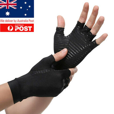 Compression Arthritis Gloves Infused Hand Wrist Support Pain Relief Rheumatoid