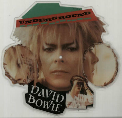 David Bowie Underground shaped picture disc vinyl record UK EAP216 CAPITOL