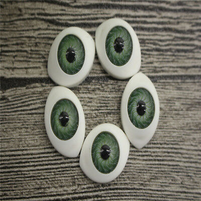 20Pcs Doll Eyes Gem Glass DIY Eyeballs Mixed Color 3 size Crafts Card Making