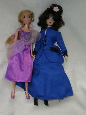 Mary Poppins Collector Doll & Tangled Rapunzel