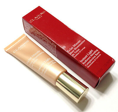 CLARINS 03 Peach Instant Light Radiance boosting Complexion Base Primer 30ml