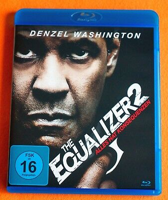 The Equalizer 2 mit Denzel Washington Blue-Ray - FSK 16 - Neuwertig