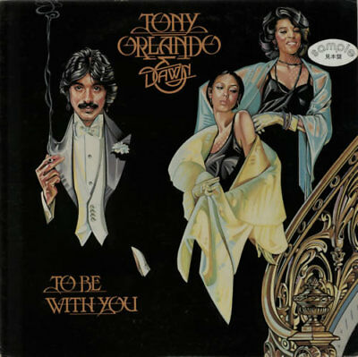 Tony Orlando & Dawn To Be With You Japanese vinyl LP album record promo