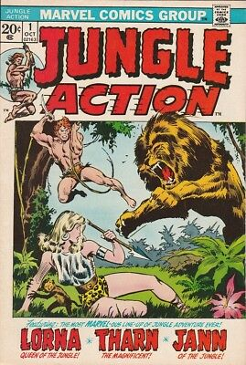 Jungle Action #1  (9.0, VF-NM)  1972  High Grade