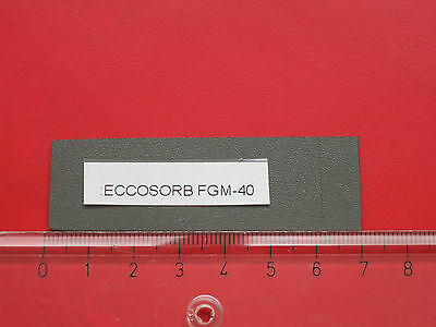 Absorbermaterial  2–12 GHz  - free-space absorbing material - ECCOSORB FGM-40