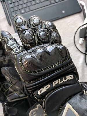 Alpinestars gp plus leather race  gloves size Large