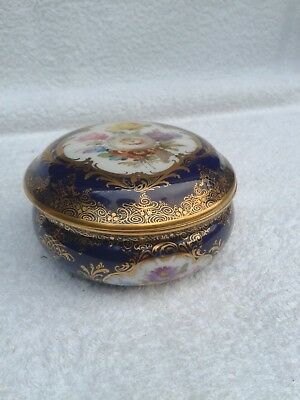 Very rare Meissen Ring Trinket Box