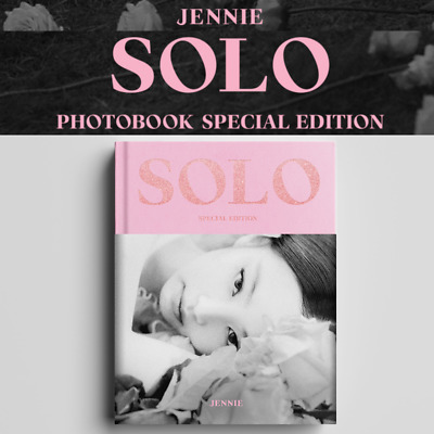 Blackpink Jennie Official Md - [ Solo ] Photobook Special Edition