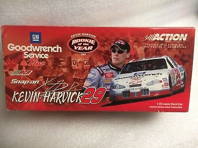 1:24 Kevin Harvick #29 GM Goodwrench Service Plus ROOKIE YEAR NASCAR SNAP-ON