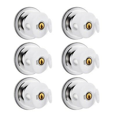 1X(6 Pack Door Knob Covers -Thicken Child Safety Cover,Child Proof Doors W A2X5