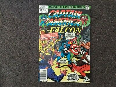 Marvel Captain America and Falcon, #217, 1978, 1st app. Wendell Vaughn (Quasar)