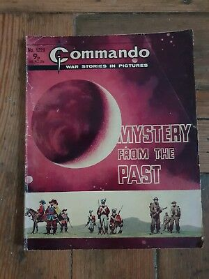 COMMANDO Number 1229 Mystery From The Past war stories in pictures comic 1970s