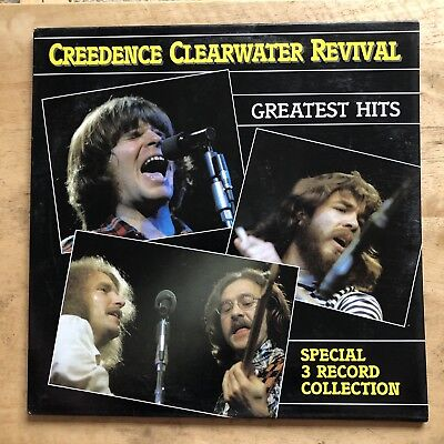 Creedence Clearwater Revival Greatest Hits 1985 Vinyl LP WSP Records OP-3514