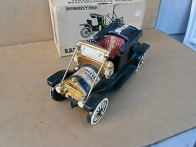 1910 Model T Ford Double Springs Rare Old Decanter with Box