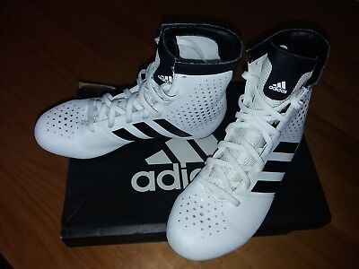 Boxing boots ADIDAS KO Legend 16.2 Junior 3.5 only worn twice EXCELLENT with box