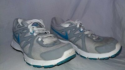 premium selection b0899 57adf Nike Revolution 2 Gray Blue Trainers Running Shoes Women s Size 5 ...