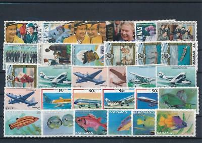 [G126395] Bahamas good lot of stamps very fine MNH