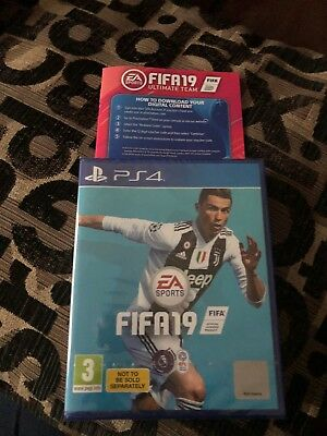 Fifa 19 ps4 Brand New, Sealed. With Ultimate Team Code