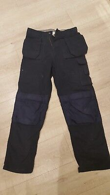 click premium workwear cargo trousers size 32T