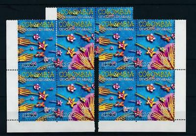 [17379] Colombia 1999 : 5x Good Set of Very Fine MNH Stamps