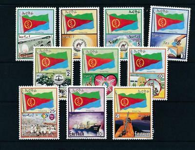 [17456] Eritrea 2000 : Good Set of Very Fine MNH Stamps - $25