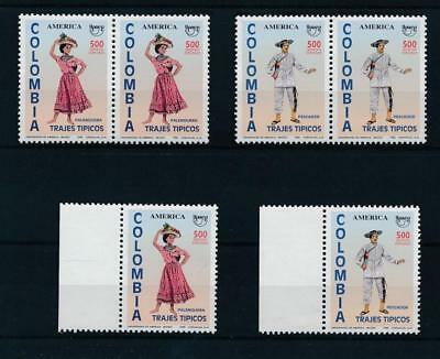 [17527] Colombia 1996 : 3x Good Set of Very Fine MNH Stamps