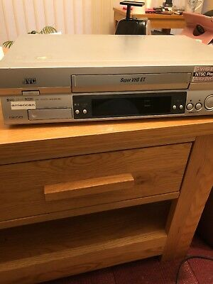JVC HR-S5965 Super VHS ET Video Recorder player PAL with NTSC Playback